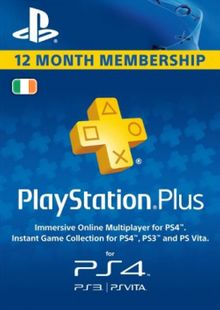PlayStation Plus - 12 Month Subscription (Ireland) cheap key to download