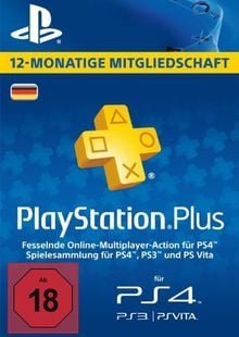 PlayStation Plus (PS+) - 12 Month Subscription (Germany) cheap key to download