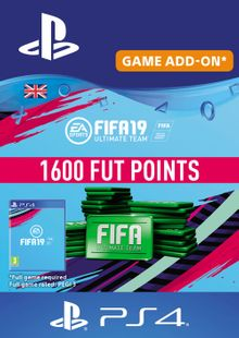1600 FIFA 19 Points PS4 PSN Code - UK account cheap key to download