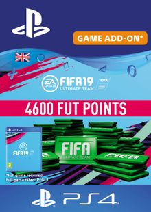 4600 FIFA 19 Points PS4 PSN Code - UK account cheap key to download