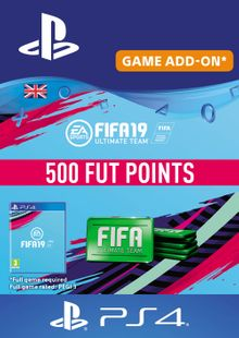 500 FIFA 19 Points PS4 PSN Code - UK account chiave a buon mercato per il download