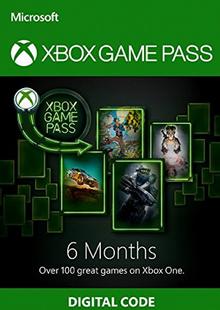 6 Month Xbox Game Pass Xbox One chiave a buon mercato per il download