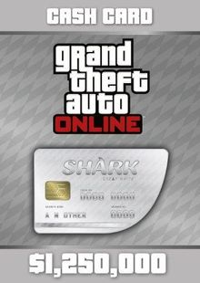 Grand Theft Auto Online (GTA V 5): Great White Shark Cash Card PC cheap key to download