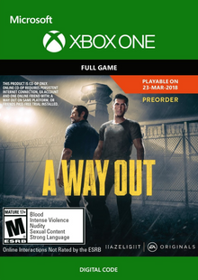 A Way Out Xbox One cheap key to download