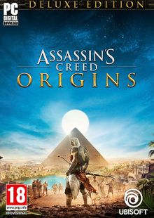 Assassins Creed Origins Deluxe Edition PC + DLC cheap key to download