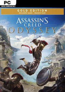 Assassins Creed Odyssey - Gold PC cheap key to download