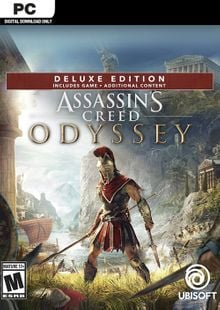 Assassins Creed Odyssey - Deluxe PC cheap key to download