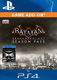 Batman: Arkham Knight Season Pass PS4 cheap key to download