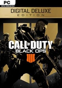 Call of Duty (COD) Black Ops 4 Deluxe Edition PC (EU) cheap key to download