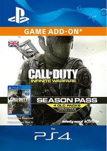 Call of Duty (COD) Infinite Warfare - Season Pass PS4 cheap key to download
