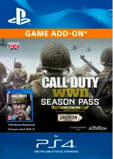 Call of Duty (COD) WWII - Season Pass PS4 cheap key to download