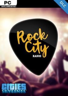 Cities Skylines - Rock City Radio DLC cheap key to download