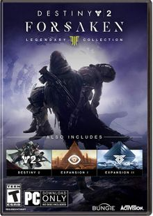 Destiny 2 Forsaken - Legendary Collection PC + DLC cheap key to download