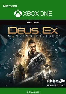 Deus Ex Mankind Divided Xbox One cheap key to download