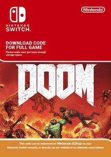 Doom Nintendo Switch cheap key to download