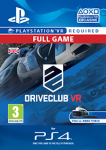 DriveClub VR PS4 cheap key to download
