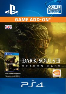 Dark Souls III 3 Season Pass (PS4) cheap key to download