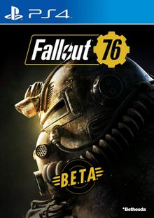 Fallout 76 BETA PS4 cheap key to download