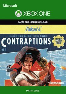Fallout 4: Contraptions Workshop Content Pack Xbox One cheap key to download