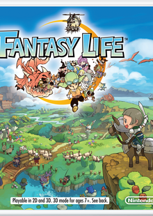 Fantasy Life 3DS - Game Code cheap key to download