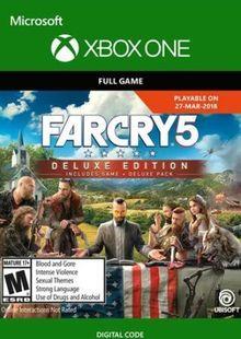 Far Cry 5 Deluxe Edition Xbox One chiave a buon mercato per il download