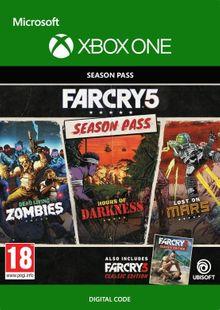 Far Cry 5 Season Pass Xbox One chiave a buon mercato per il download