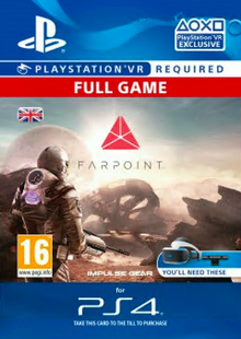 Farpoint VR PS4 cheap key to download