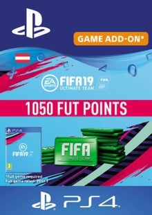 Fifa 19 - 1050 FUT Points PS4 (Austria)