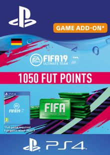 Fifa 19 - 1050 FUT Points PS4 (Germany) cheap key to download