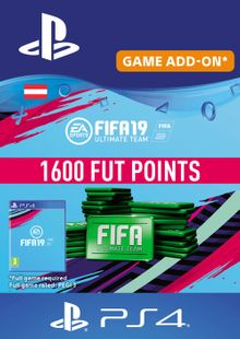 Fifa 19 - 1600 FUT Points PS4 (Austria) cheap key to download