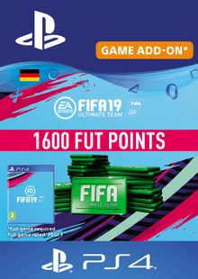 Fifa 19 - 1600 FUT Points PS4 (Germany) cheap key to download