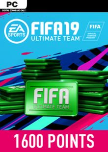 FIFA 19 - 1600 FUT Points PC cheap key to download