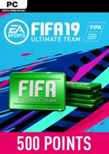 FIFA 19 - 500 FUT Points PC cheap key to download