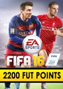 FIFA 16 PC 2200 FUT Points cheap key to download