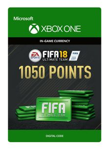 Fifa 18 - 1050 FUT Points (Xbox One) cheap key to download