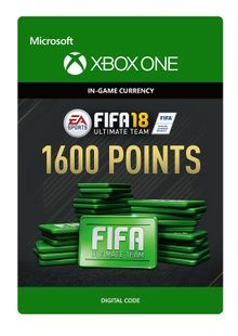Fifa 18 - 1600 FUT Points (Xbox One) cheap key to download
