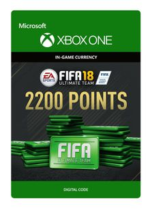 Fifa 18 - 2200 FUT Points (Xbox One) cheap key to download
