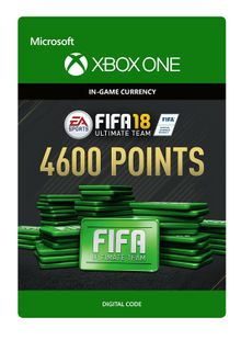 Fifa 18 - 4600 FUT Points (Xbox One) cheap key to download