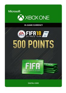 Fifa 18 - 500 FUT Points (Xbox One) cheap key to download