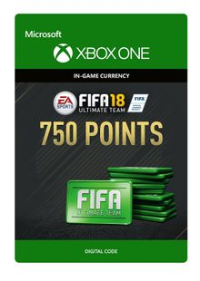 Fifa 18 - 750 FUT Points (Xbox One) cheap key to download