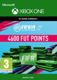 Fifa 19 - 4600 FUT Points (Xbox One) cheap key to download