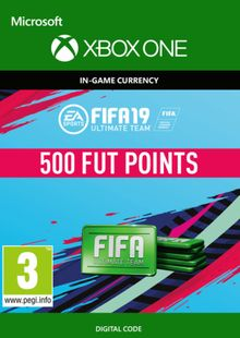 Fifa 19 - 500 FUT Points (Xbox One) cheap key to download