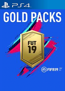 FIFA 19 - Jumbo Premium Gold Packs DLC PS4 cheap key to download