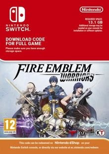 Fire Emblem Warriors Switch cheap key to download