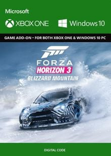 Forza Horizon 3: Blizzard Mountain Expansion Pack Xbox One cheap key to download