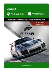 Forza Motorsport 7: Deluxe Edition Xbox One/PC cheap key to download