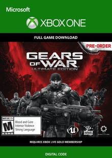 Gears of War: Ultimate Edition Xbox One - Digital Code cheap key to download