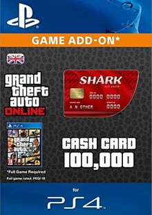 Grand Theft Auto Online (GTA V 5) Red Shark Cash Card PS4 cheap key to download