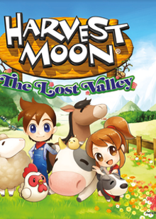 Harvest Moon: The Lost Valley Nintendo 3DS/2DS - Game Code chiave a buon mercato per il download
