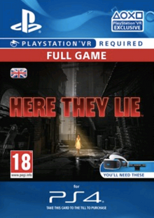 Here They Lie VR PS4 cheap key to download